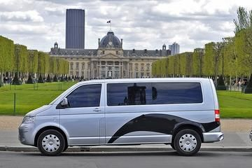 Transfer CDG Super Shuttle 89EUR 5 Pax Pedir Child Seat