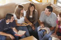 Ideas for Christian Adult Small Group Games   eHow
