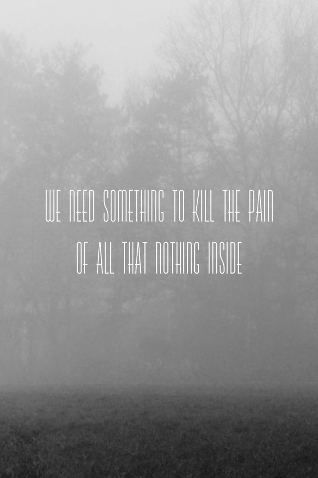 Misty Forest Quote IPhone 4s Wallpaper