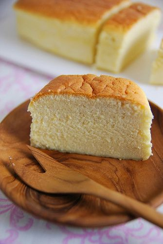Japanese Cheesecake Delish Its Like Angle Food Cake And Cheese
