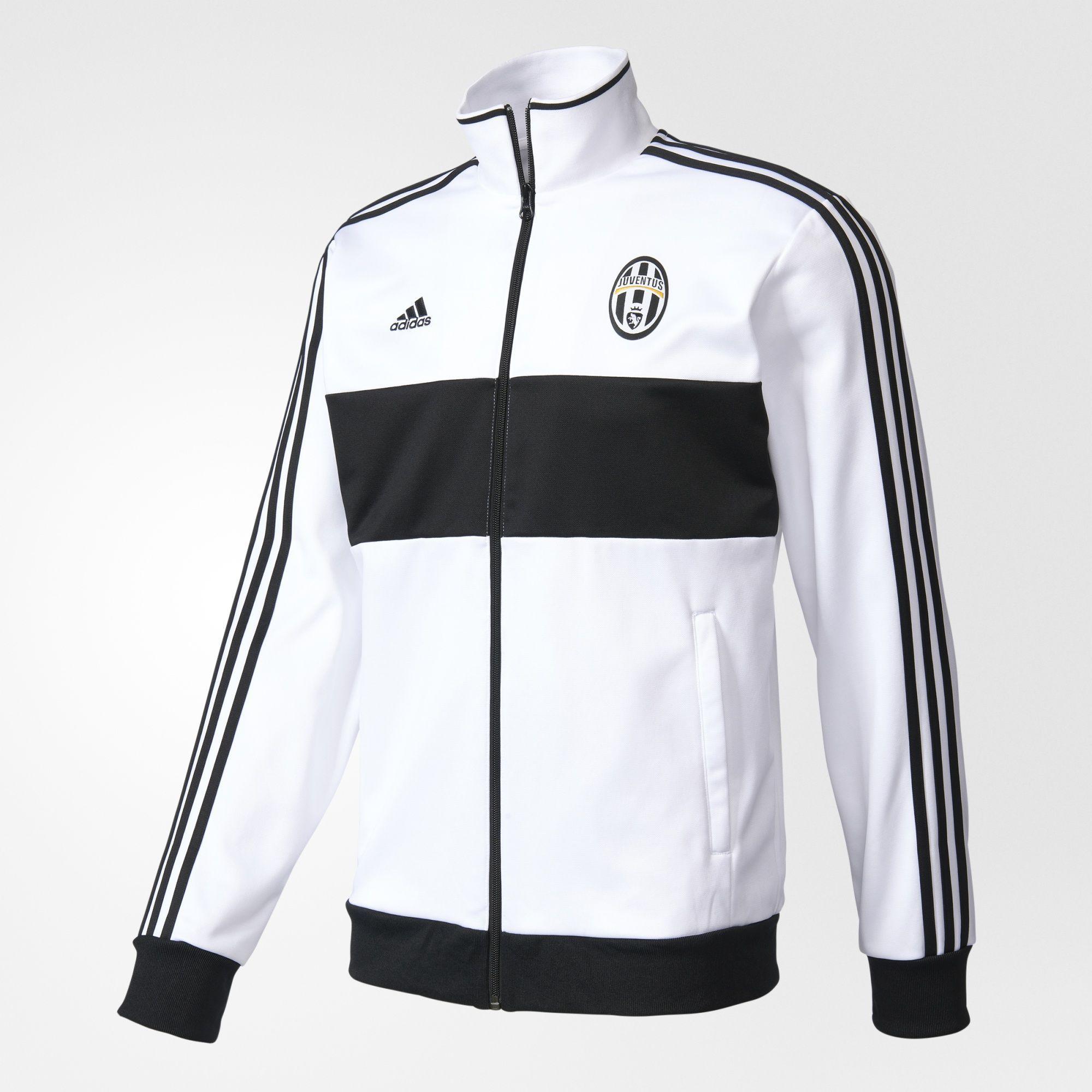 adidas - Juventus Chaqueta Deportiva 3 Rayas  8a6e52741409e
