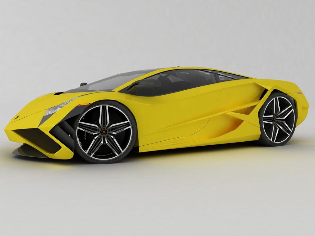 prachtige lamborghini sports car concept