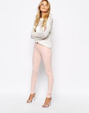 Noisy May Bubblegum Skinny Jeans
