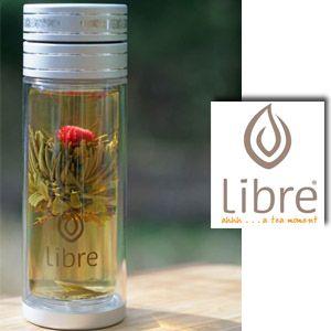 21% off Libre Tea Glass Traveler for Loose Leaf Tea On-the-Go
