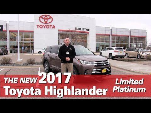 New 2017 Toyota Highlander Limited Platinum Mpls Golden Valley