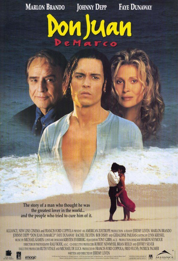 Don Juan De Marco 11x17 Movie Poster (1995) | Bob gunton and Products