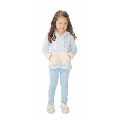 58d5ea06a Calça Infantil Bengaline com Recortes - Mon Sucré