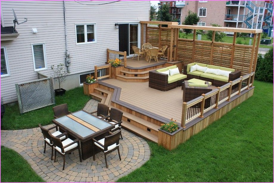 Backyard Deck Ideas Small