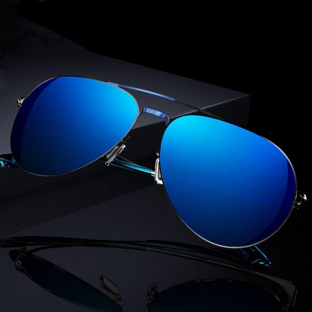 6306afdce2 Brand Design Sunglasses Unisex Polarized UV400 Eyes Protect Fashion Coating  Sun Glasses for driving True color glasses