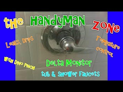 repair Delta Monitor tub or shower faucet, fix leaks from spout ...
