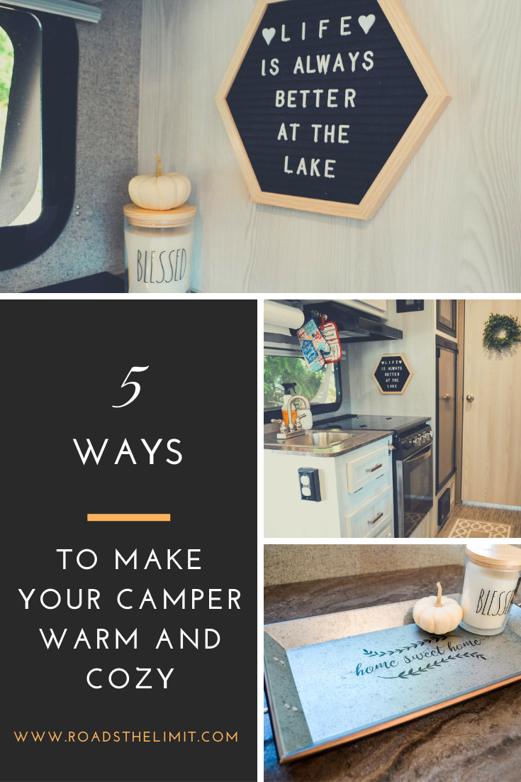 5 things you can do today for a warm and cozy camper