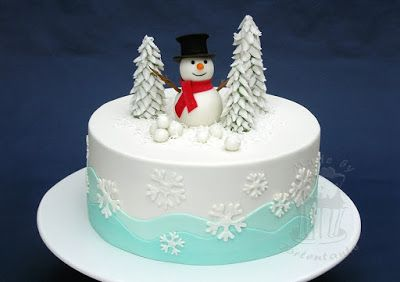 schneemann torte mit fondant f r tortenkurs weihnachttorte pinterest. Black Bedroom Furniture Sets. Home Design Ideas