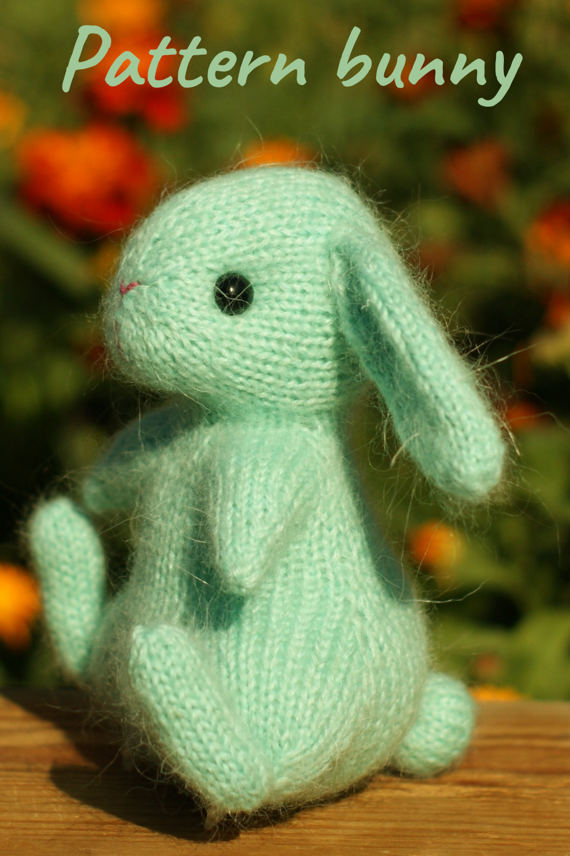 Knitting Pattern Baby-Adult Bunny Rabbit Oreilles Pâques Bandeau fransknits PDF