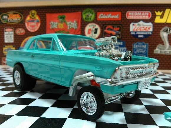 1962 Tempest Gasser Model Cars Kits Model Cars Building Plastic Model Cars