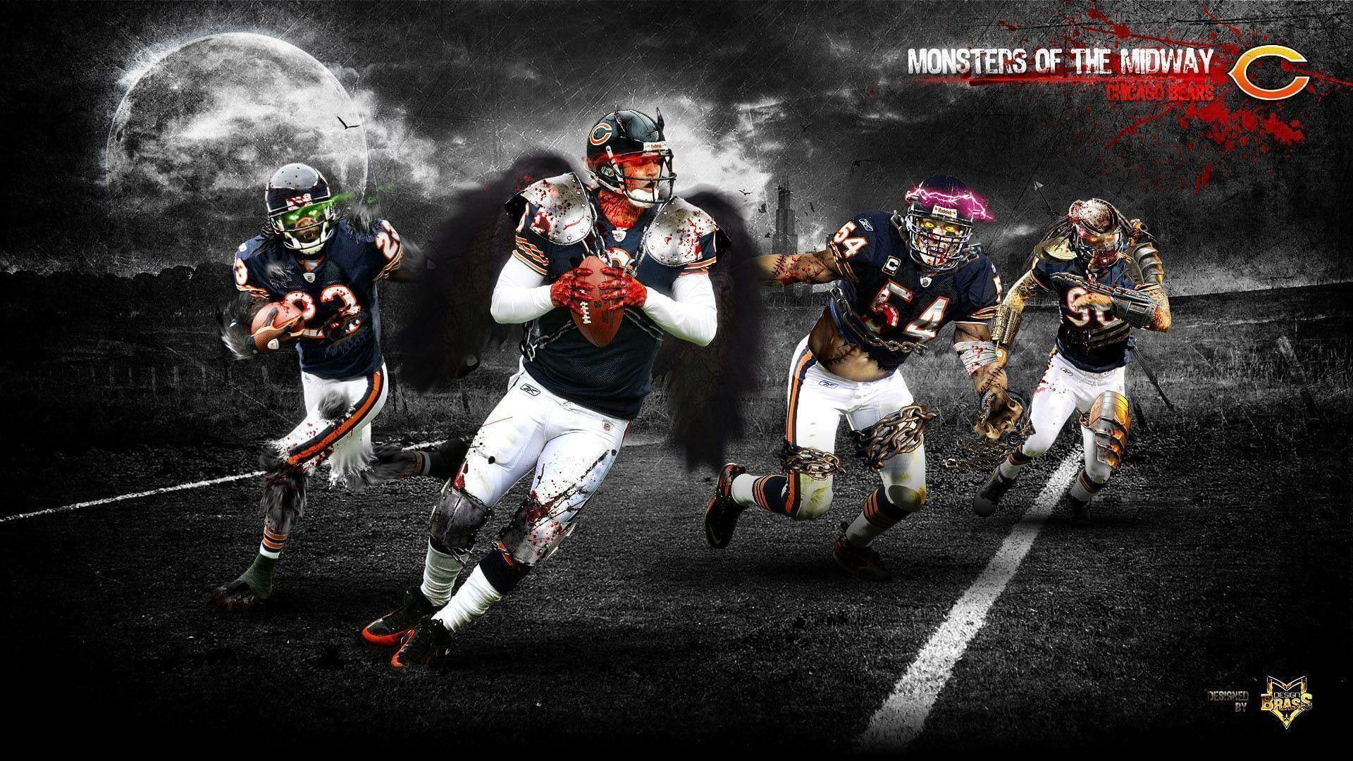 Bears For Pc Wallpaper 2020 Nfl Football Wallpapers 4k In 2020 Nfl Football Wallpaper Football Wallpaper Chicago Bears Wallpaper