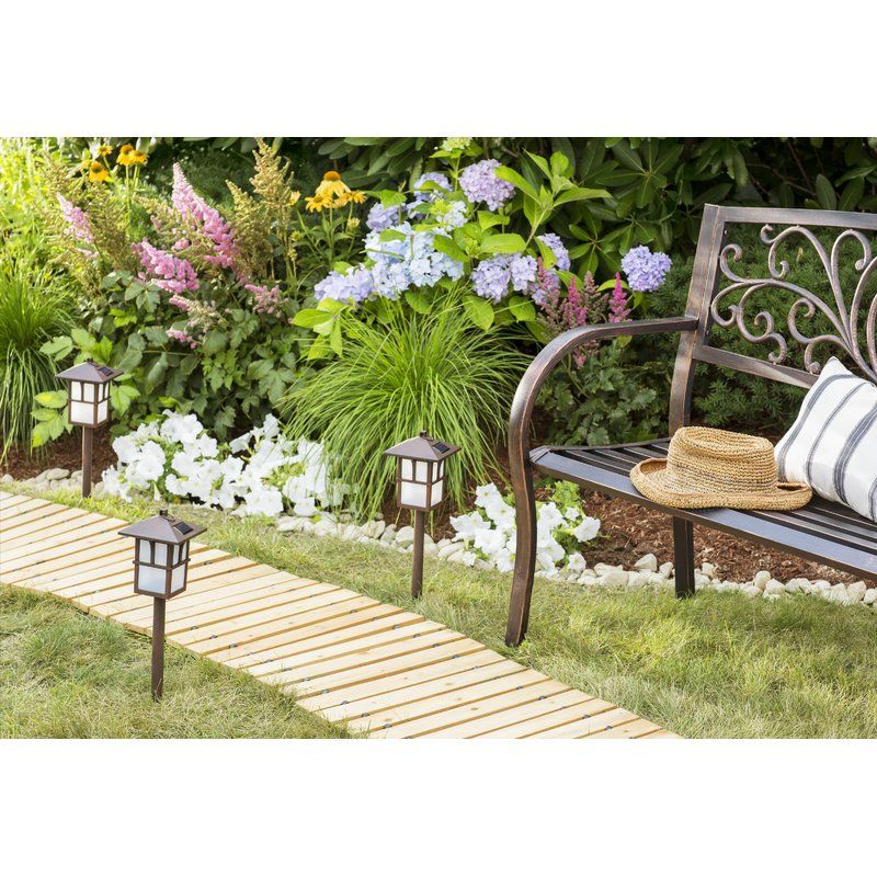 Wooden Pathway Wooden pathway, Garden plaques, Charming