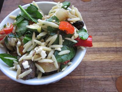 Sweet Luvin' In The Kitchen: Orzo with Roasted Vegetables
