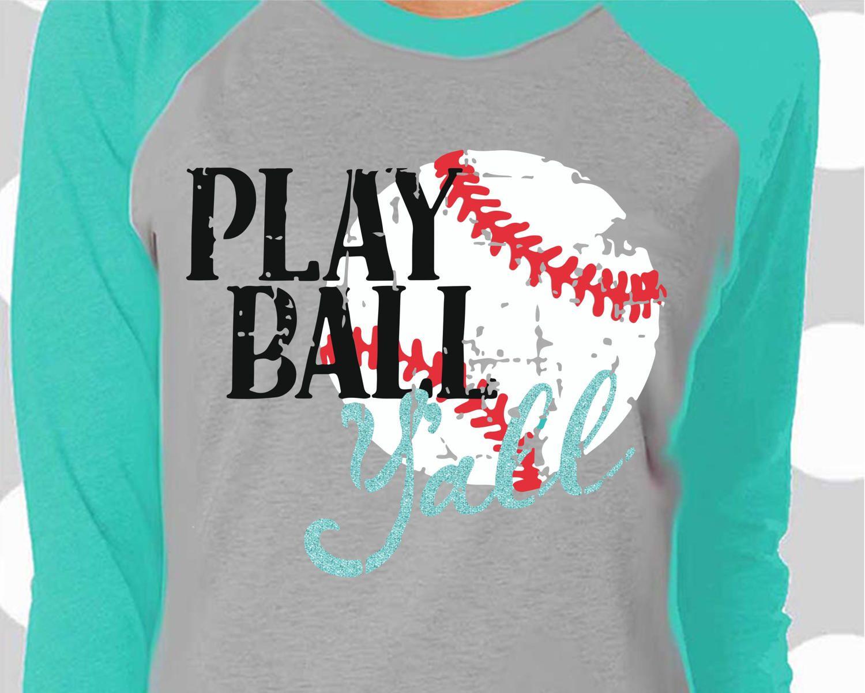 Baseball svg, Play Ball Y'all svg, Baseball Mom svg