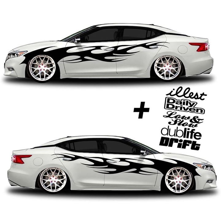 Vinyl Car Graphic KIT Jdm Euro Stancenation Decals Http - Custom vinyl decals for cars jdm