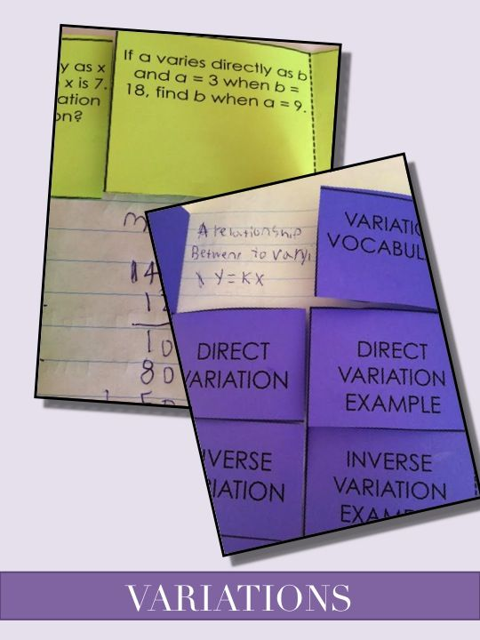 Direct Variation Is Easy Say My Students Love Using These