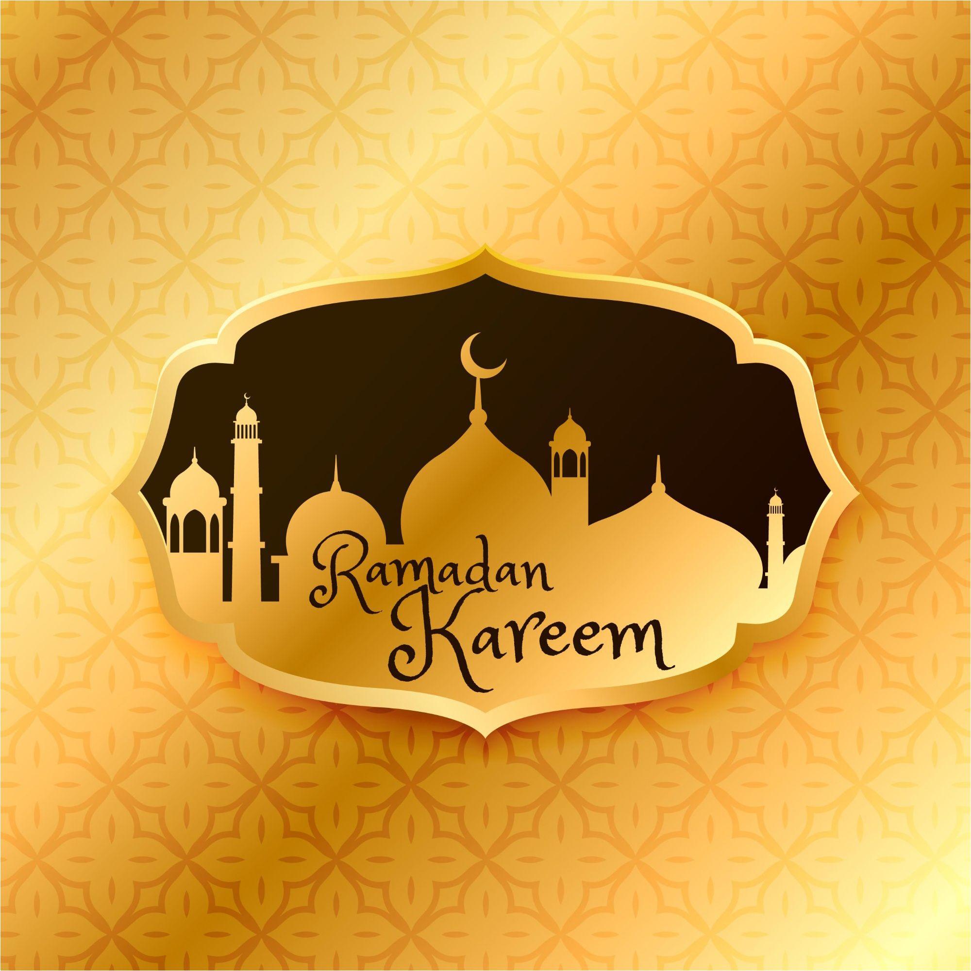 Beautiful Ramadan Kareem Gold Design Background Http Www Cgvector Com S Ramadan Ramadan Kareem Ramadan Greetings Ramadan