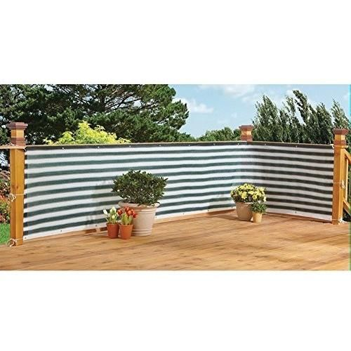 Deck Fence Privacy Netting Screen
