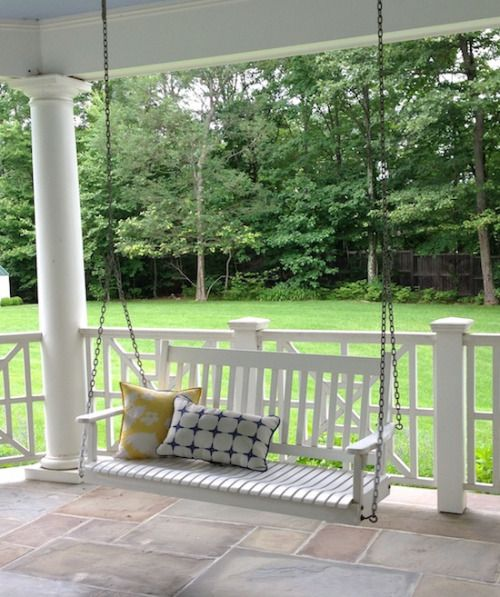 is romance backyard outdoor decor porch swing on porch swing ideas inspiration id=35117
