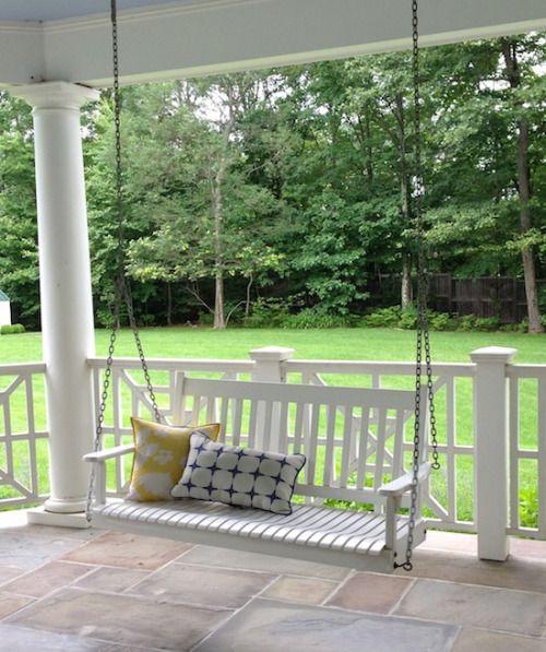 is romance backyard outdoor decor porch swing on porch swing ideas inspiration id=35117