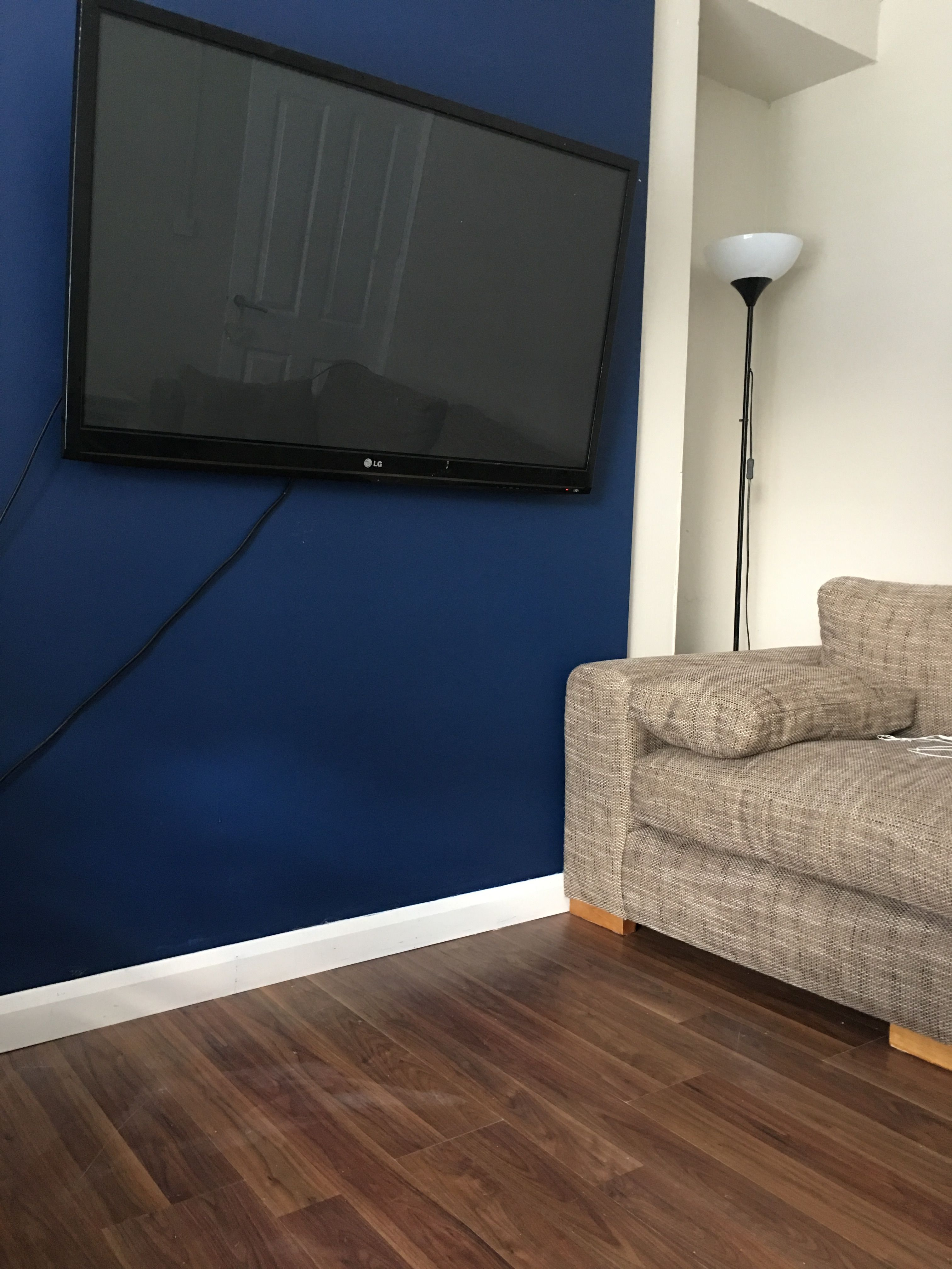 Dulux Sapphire Salute Dulux Egyptian Cotton Blue Living Room Blue Feature Wall Living Room Blue Rooms