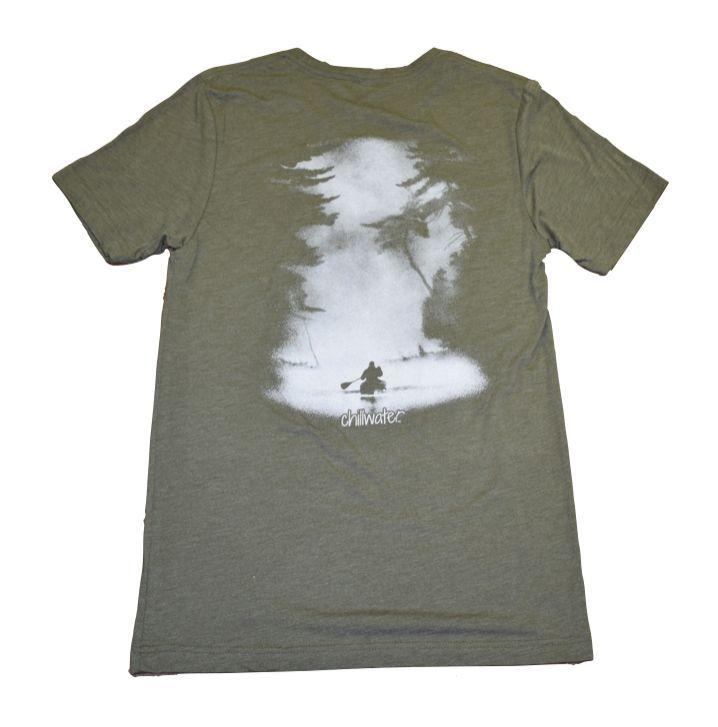Short Sleeve T-Shirt Super Soft - Classic Kayak; 4 Colors