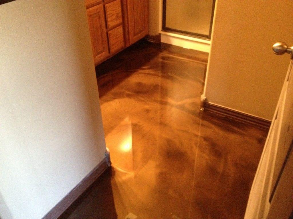 Epoxy Over Concrete Floor Project Bentonville Arkansas Floors Flooring New Homes
