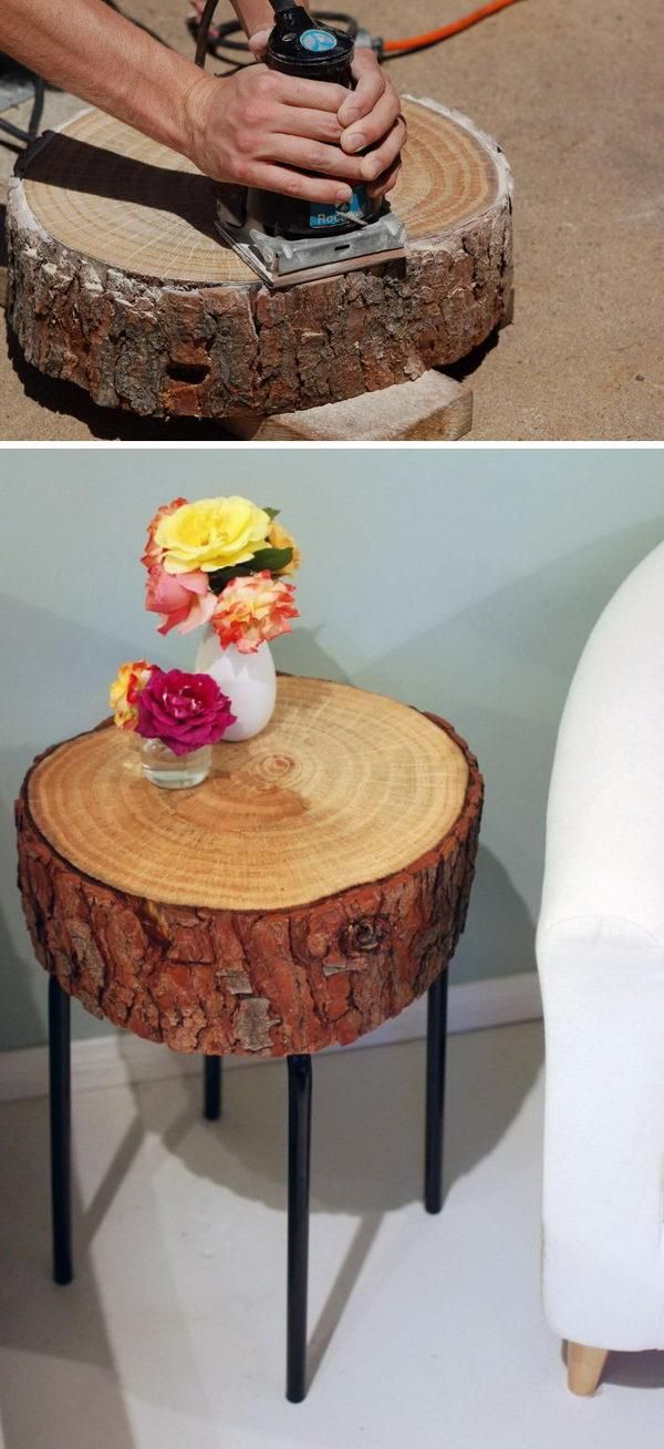Creative Diy Side Table Ideas For Outdoors And Indoors Side