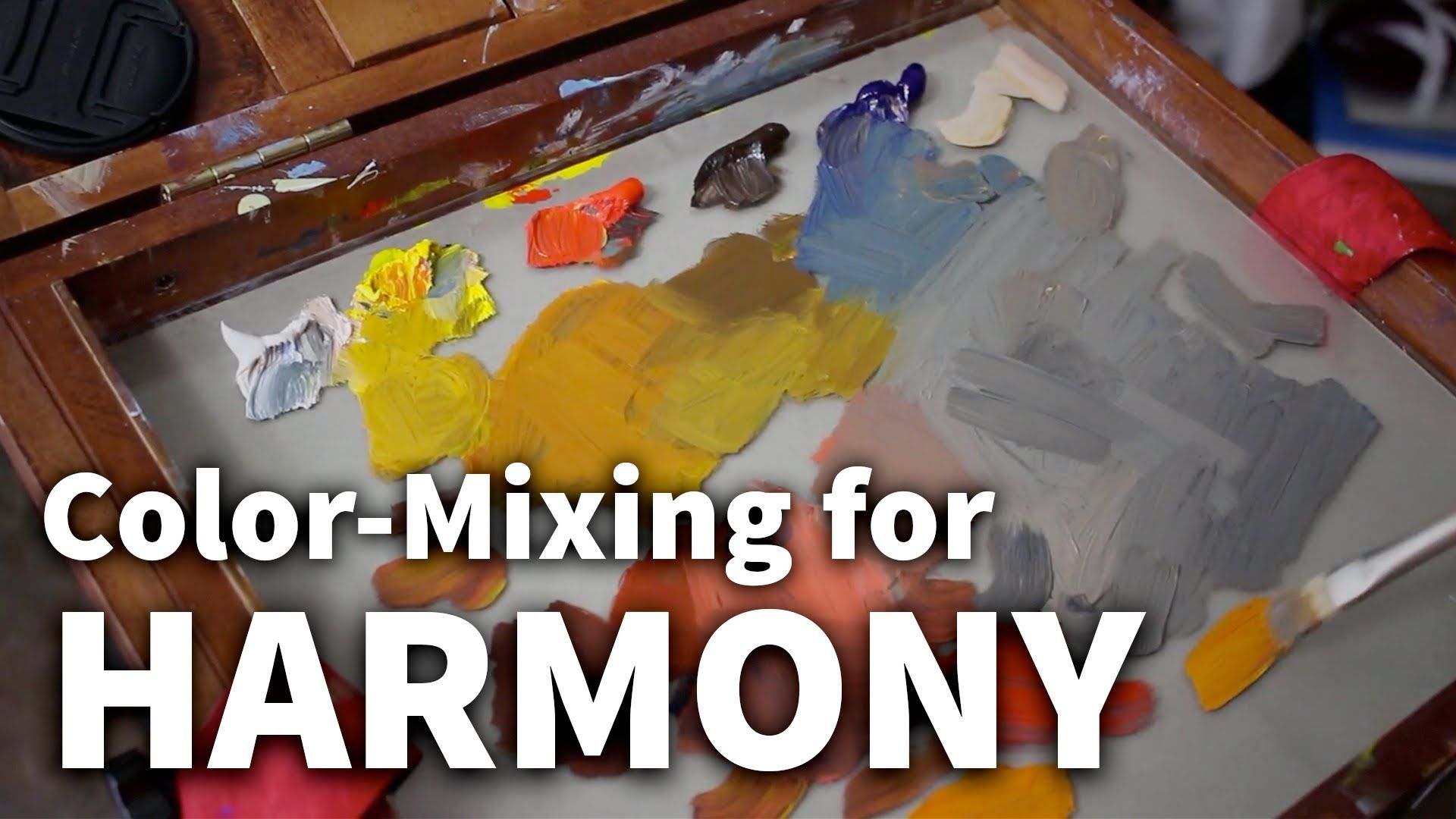 Color Mixing For Harmony Acrylic Oil Painting Lesson Film O