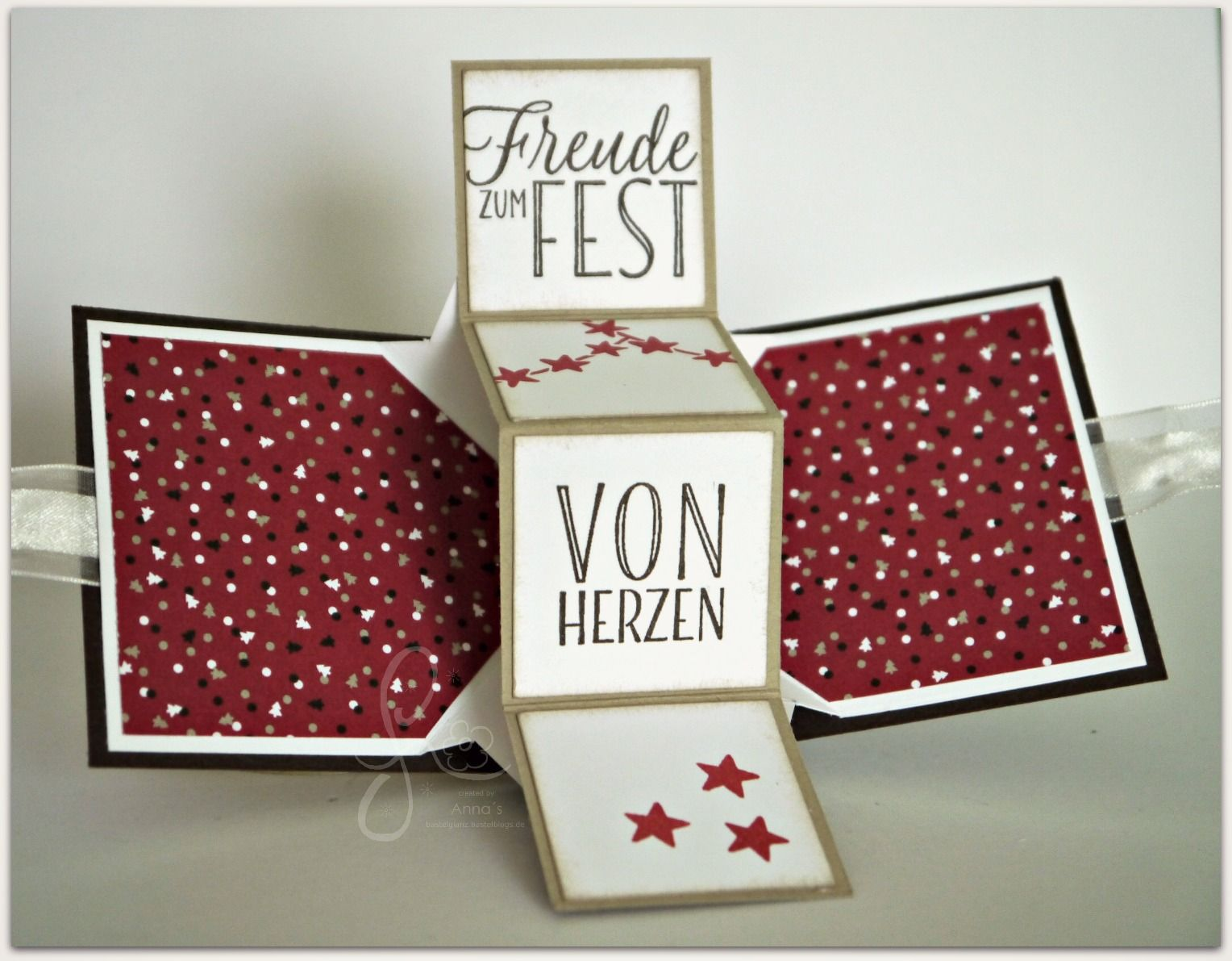 mini pop up panel card swaps f r onstage2016 d sseldorf diy advent xmas karten pinterest. Black Bedroom Furniture Sets. Home Design Ideas