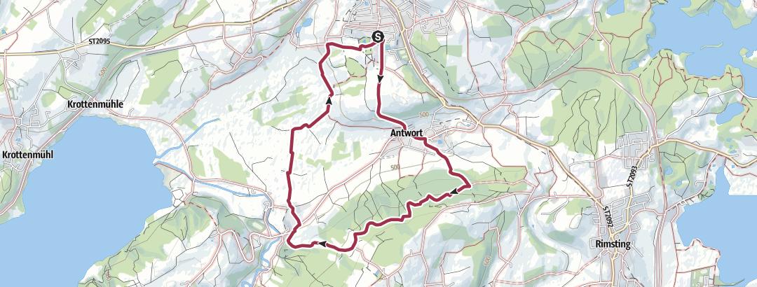 Forstweg Ratzinger Hohe Wanderung Outdooractive Com In 2020 Chiemgauer Alpen Tourismus Alpen