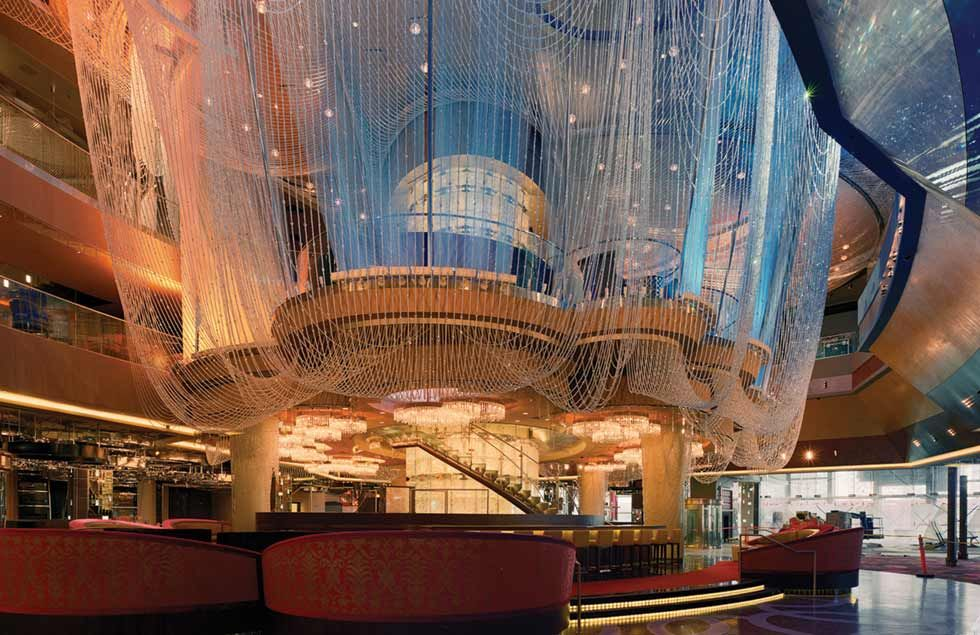 Casino themed travel attractions pinterest chandeliers and lobbies the chandelier at the cosmopolitan las vegas if you want classic casino themed entertainment where else would you go but vegas mozeypictures Choice Image