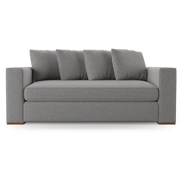Joybird Furniture Allen Mid Century Modern Brown Loveseat ($1,399