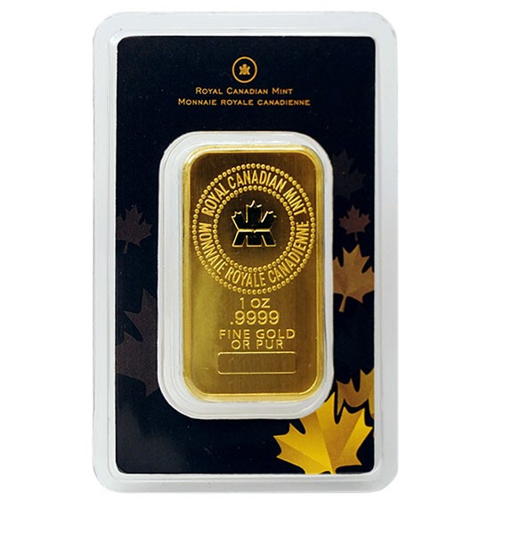 Royal Canadian Mint 1 Oz Gold Wafer Bars Buy Online Cache Metals Canada 1 Oz Oro