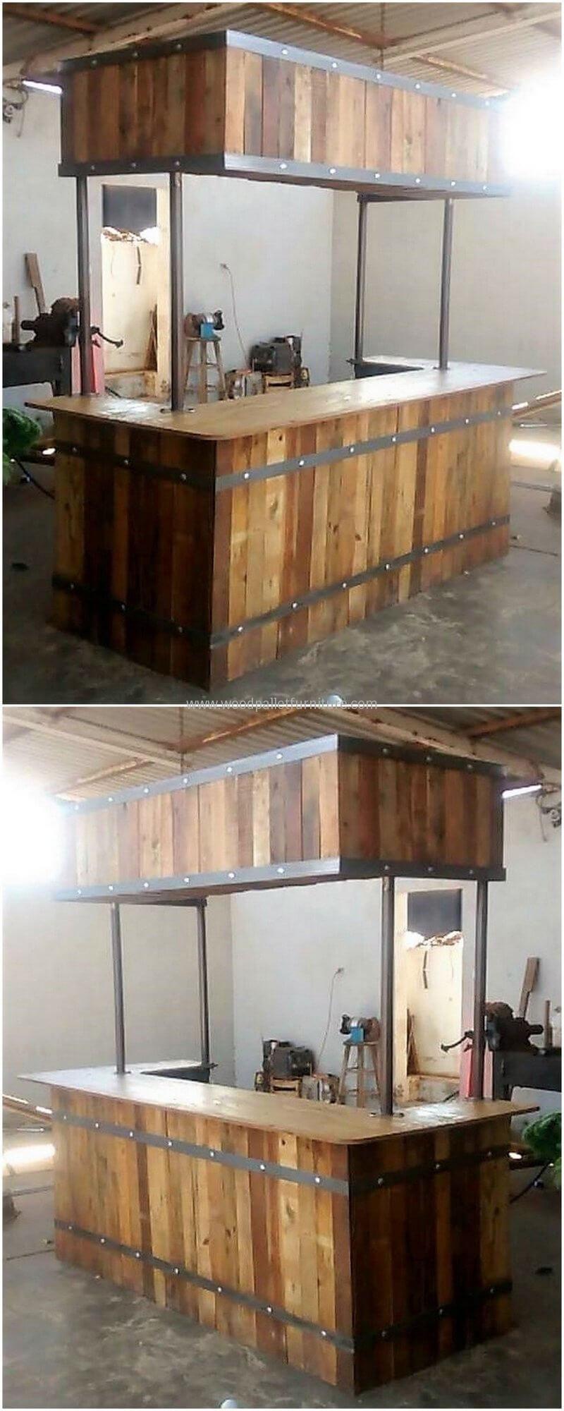 Creative Creations with Recycled Wood Pallets   Paletten garten und ...