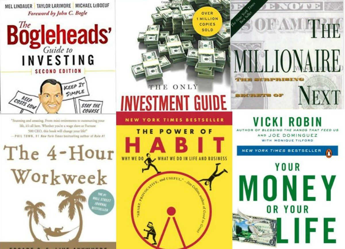 26cba69fd88 The books that helped me retire with over $2 million at age 28. These books  span savings strategies, psychology, investing, and career advice.