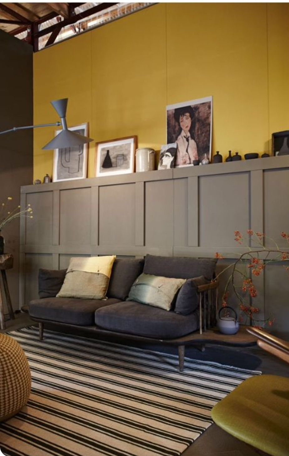Yellow walls living room grey walls brown paint walls living room grey