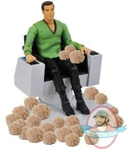 Star Trek Tos James T Kirk Chair Trouble With Tribbles | Man of Action Figures