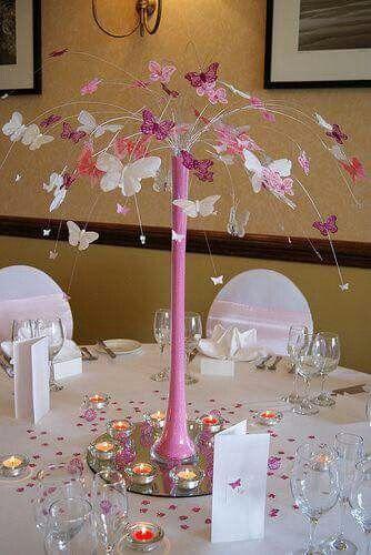 Mariposa Decorar Mesa Butterfly Table Decorations Centerpieces Decoration