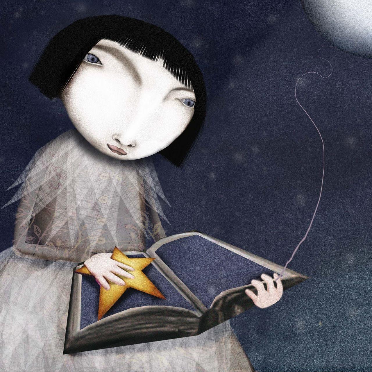 estrela e livro