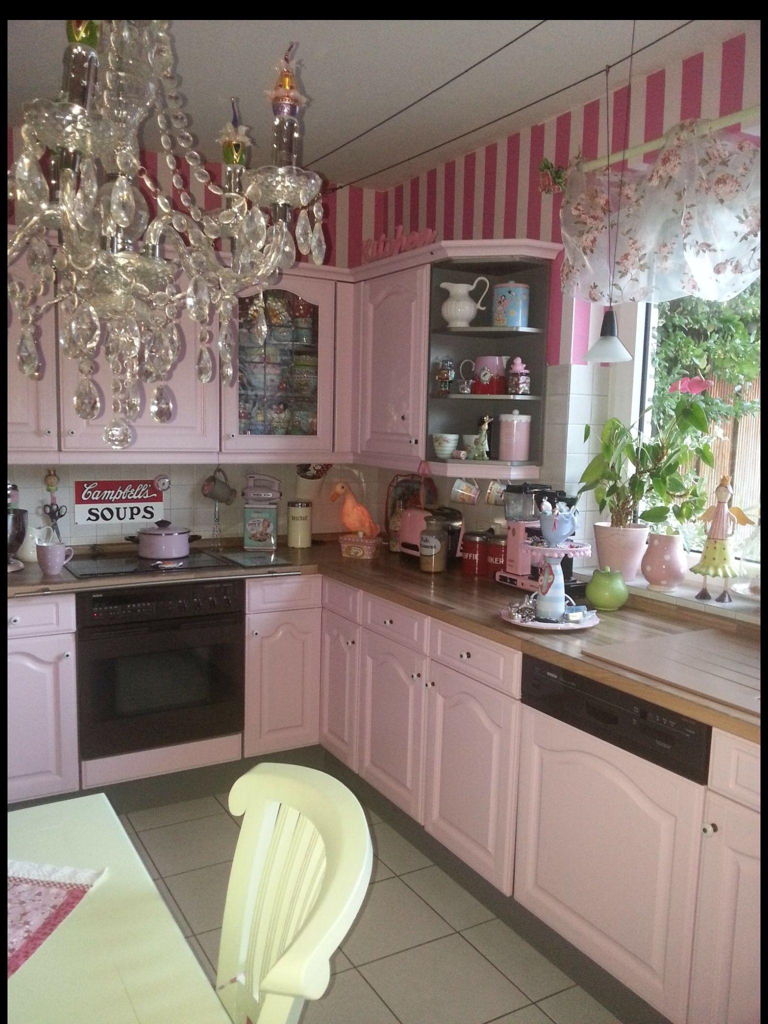 Traum Pink Kitchen Kitchen Decor