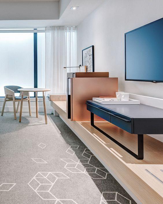 Contemporary Hotel Rooms: Hotel Room Design, Hotel Interior Design