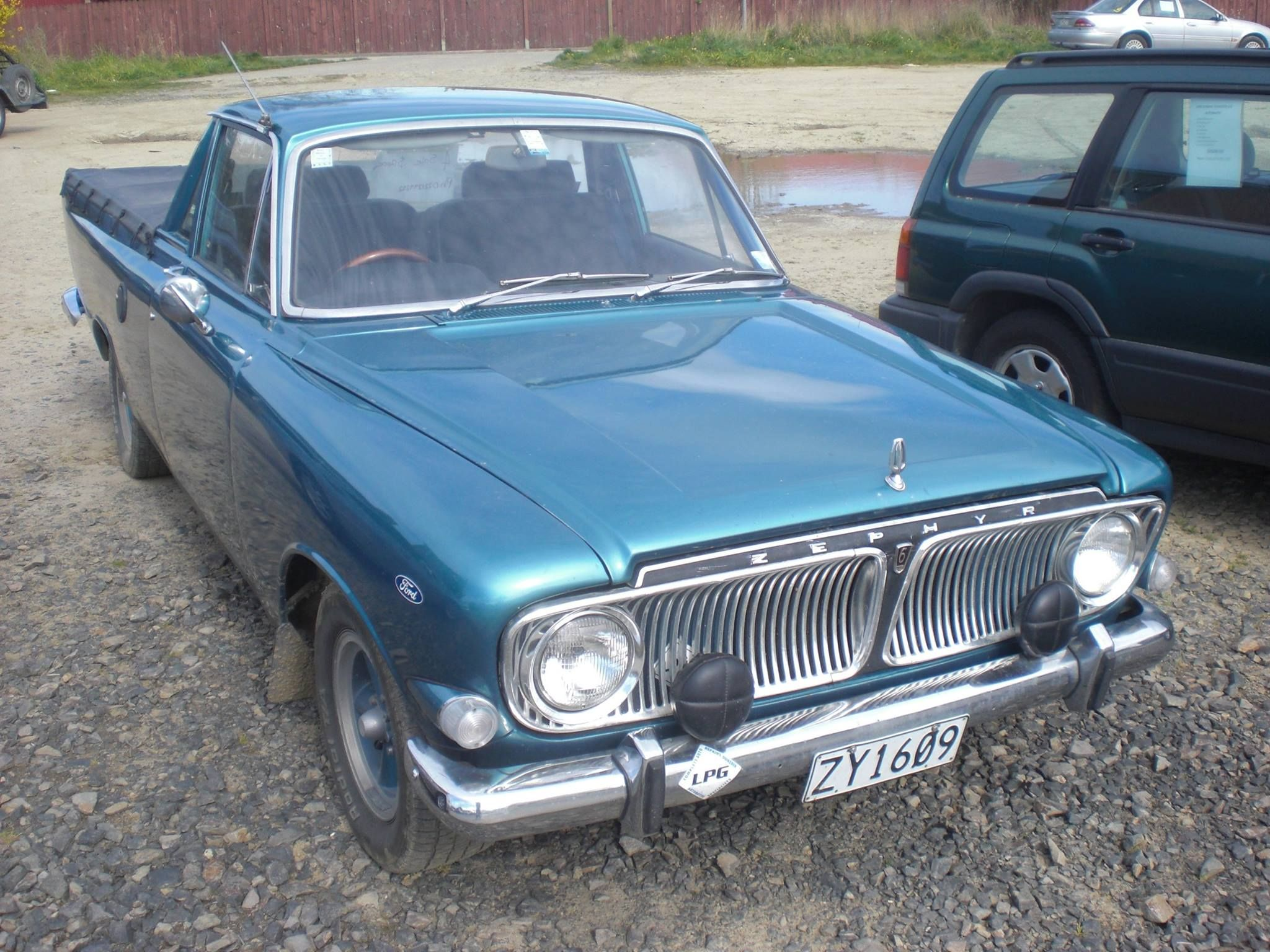 Mk3 Ford Zephyr Ute Conversion In New Zealand Ford Zephyr