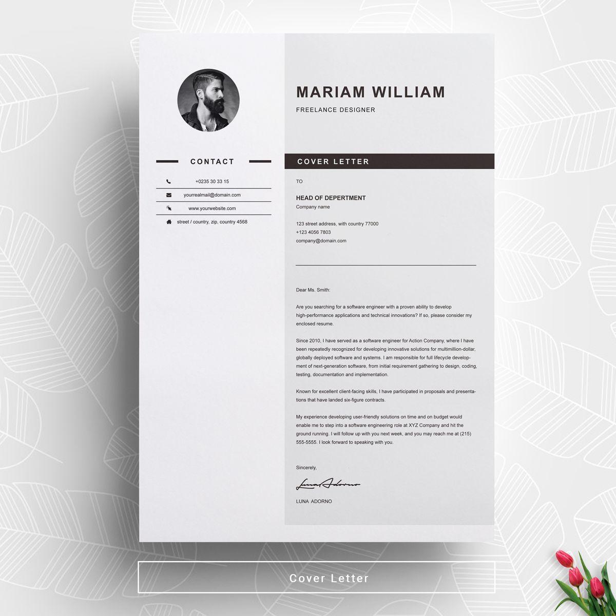 Freelancer Resume Template 71465 Cv design template