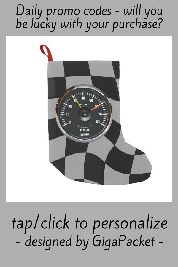 #promo Vintage Analog Auto Tachometer Racing Small Christmas Stocking #tachometer #car #auto #automobile #racing #SmallChristmasStocking #affiliatelink #christmasstocking