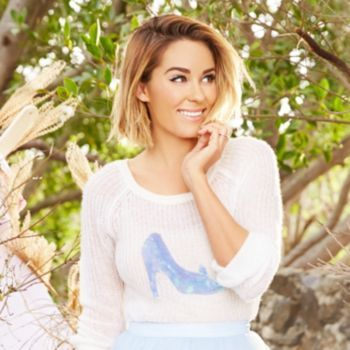 Disney's Cinderella a Collection by LC Lauren Conrad Glass Slipper Sweater - Women's ` I absolutely love this sweater
